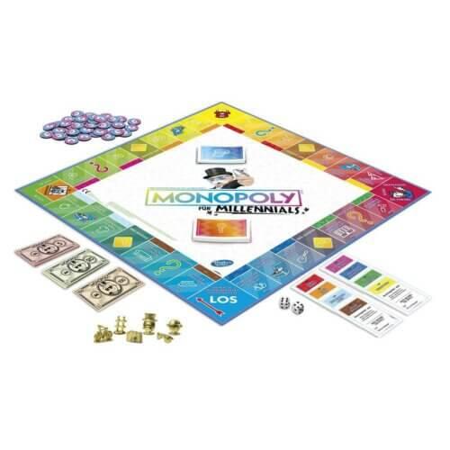 Monopoly Millennials Inhalt