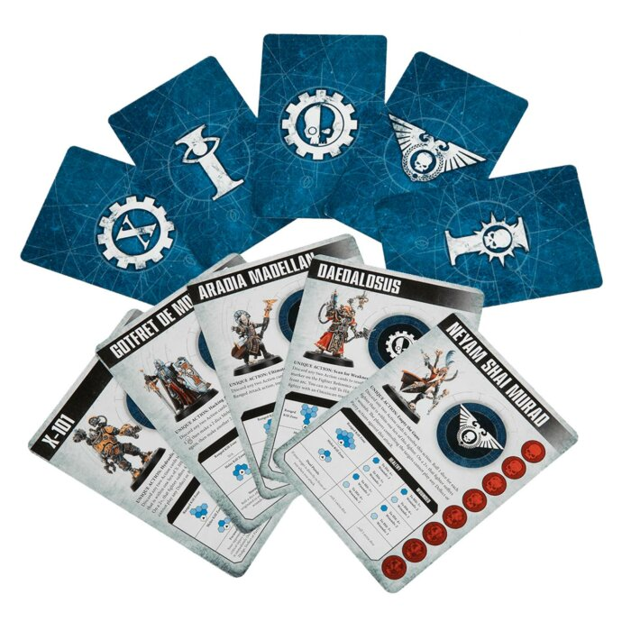 Combat Arena Warhammer 40.000 Karten