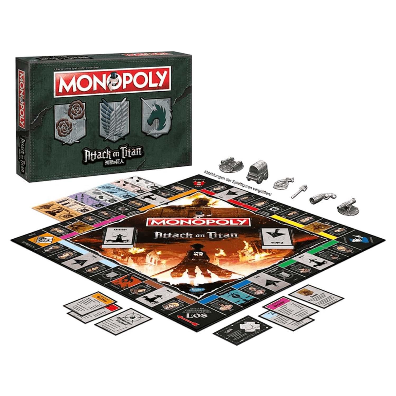 Monopoly Attack on Titan Inhalt