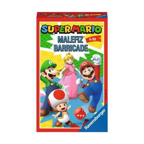 Super Mario Malefiz Barricade
