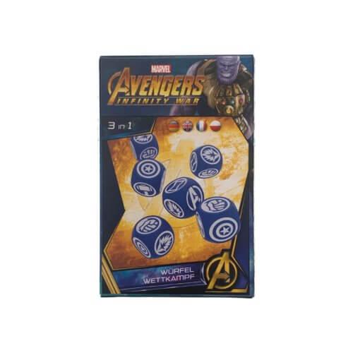 Avengers Infinity War Würfelwettkampf