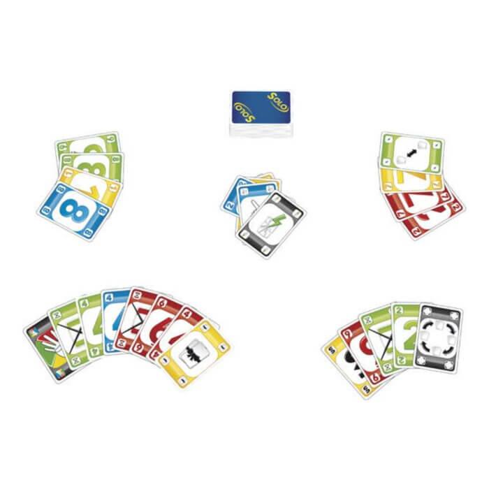 Solo Kartenspiel Inhalt