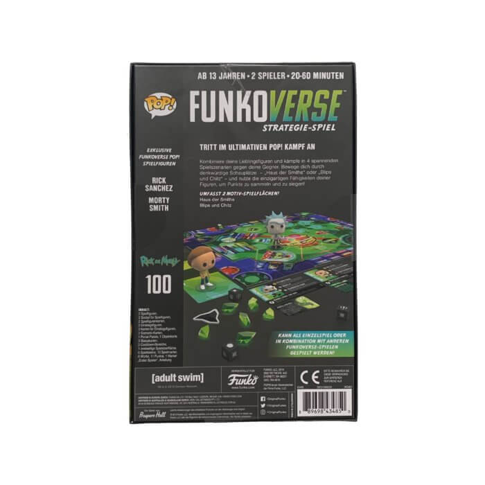 Funkoverse Rick and Morty hinten