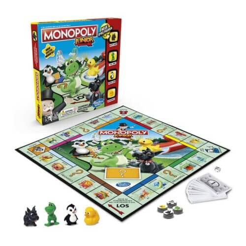 Monopoly Junior Inhalt