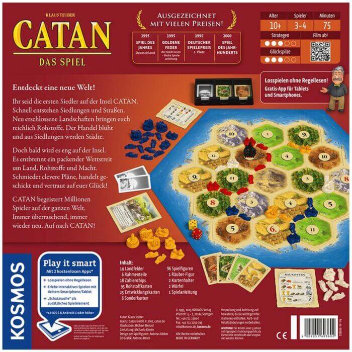 Catan Das Spiel hinten