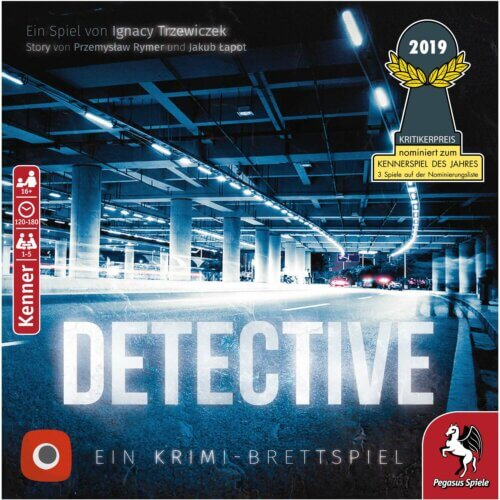 Detective Pegasus Spiele vollansicht