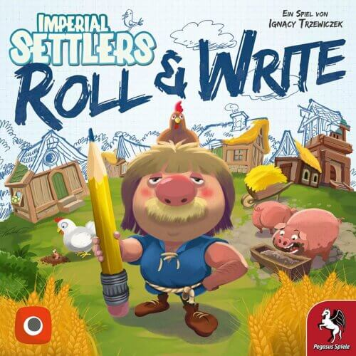 Imperial Settlers Roll & Write Pegasus Spiele