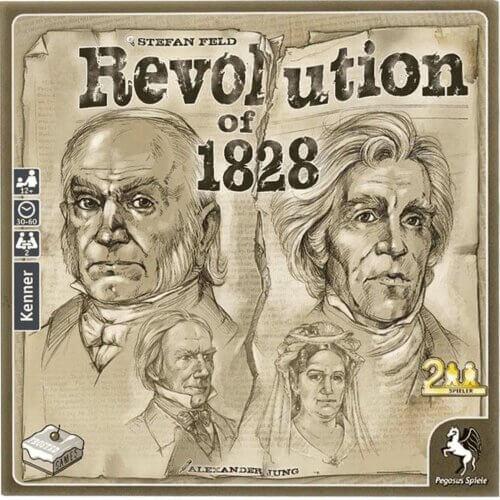 Revolution of 1828 Pegasus Spiele
