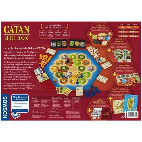 Catan Big Box hinten