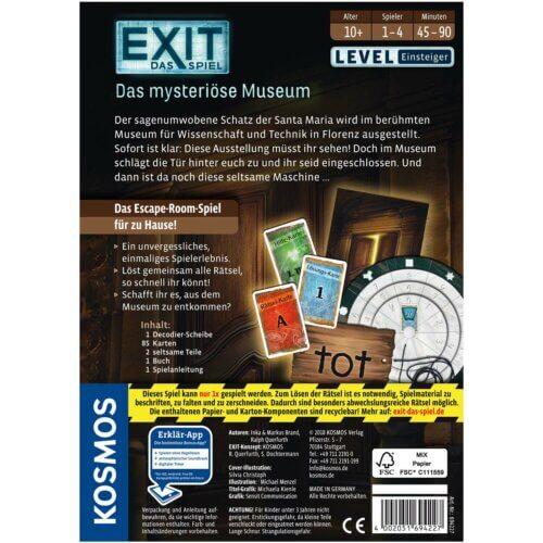 Exit Die mysteriöse Museum hinten