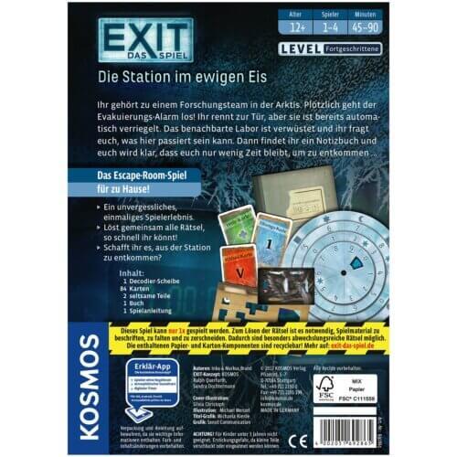 Exit Die Station im ewigen Eis hinten