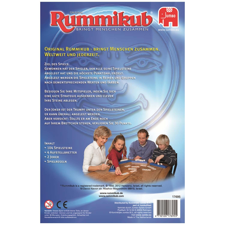 Original Rummikub Die Klassiker hinten
