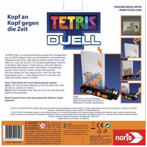 Tetris Duell hinten
