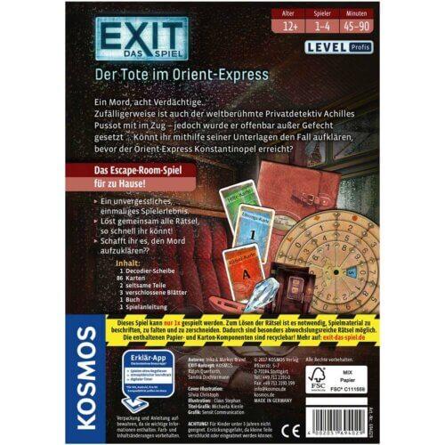EXIT Der Tote im Orient-Express hinten