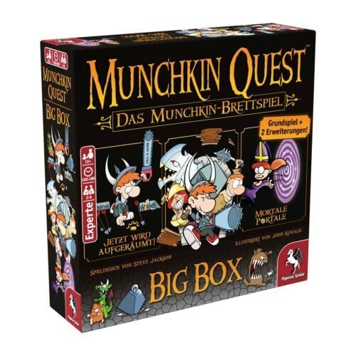 Munchin Quest Big Box