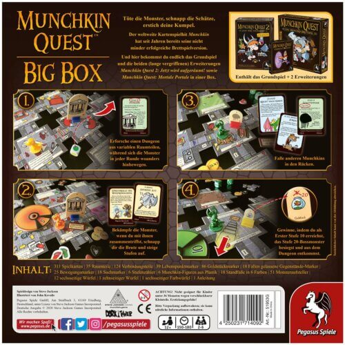 Munchin Quest Big Box hinten