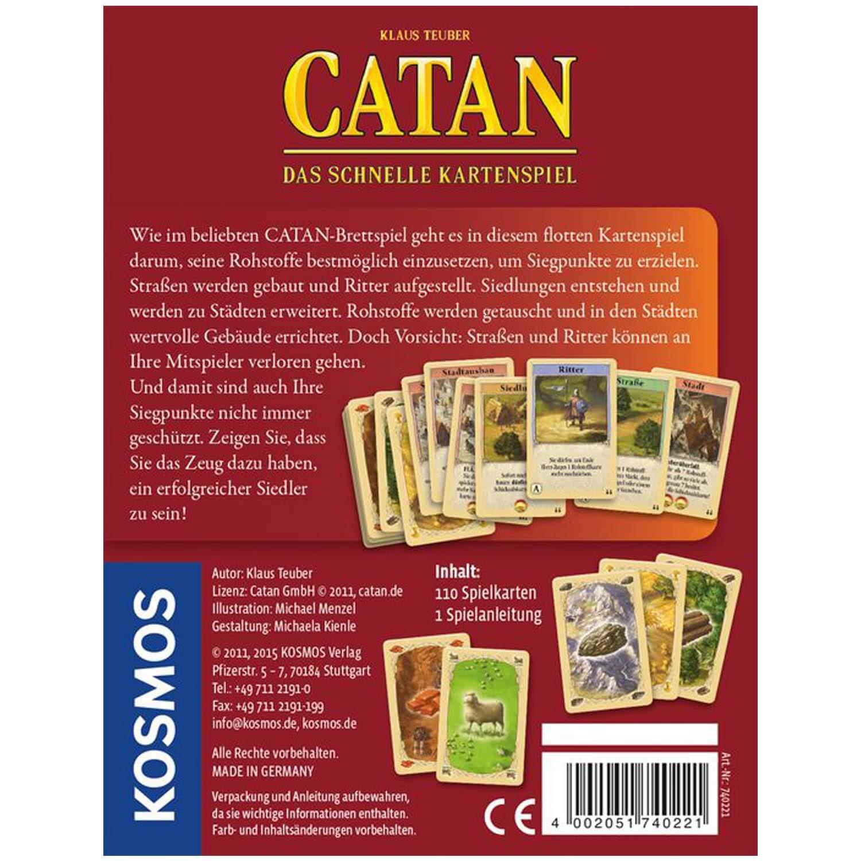 Catan Das Schnelle Kartenspiel hinten