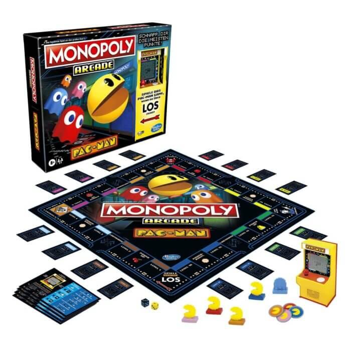 Monopoly Arcade Pac-Man Inhalt 2