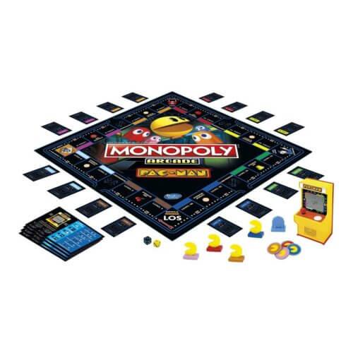 Monopoly Arcade Pac-Man Inhalt