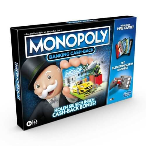 Monopoly Banking Cash-Back